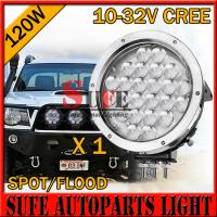 2015 NEW 9 INCH 120W CREE LED Driving Light For Truck Offroad 4X4 Spot Beam 10-70V Manufactures