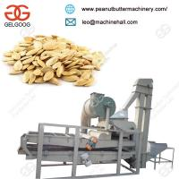 Automatic Advanced Pumpkin Seed Dehuller Melon Seed Shelling Machine With Good Quality Manufactures