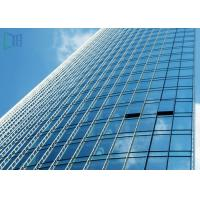 Quality Reflective Glass Aluminium Glass Curtain Wall For Commercial Building ISO 9001 for sale