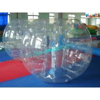 China Giant Body Inflatable Zorb Ball , Inflatable Human Bubble Ball Soccer on sale