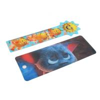 OK3D cheapest high quality  Plastic Lenticular Hang Tag  with string made by UV offset printer Manufactures