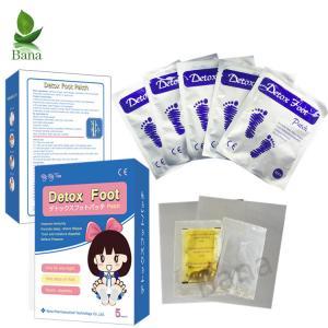 China Bana Wholesale Free Sample 5Bags Per Box Kinoki Detox Foot Pads on sale
