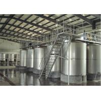 Buy cheap 100L - 8000L Capacity Sanitary Mixing Tanks Stainless Steel Apple Juice Tanks from wholesalers