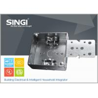 Quality Canadian UL hollow out rust - proofing metal outlet box / electrical wiring boxes for sale