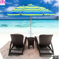 Heavy Duty 7 Ft Uv Protection Sun Beach Umbrella With Air Vent Top Manufactures