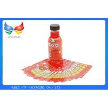 Eco Friendly Juice Drink Bottle Labels PETG Shrink Wrap Sleeve No Benzene , 40 Mic Manufactures