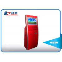 Multi function touch screen kiosk stand with WIFI / restaurant self service kiosk Manufactures