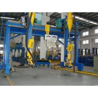 China Automatic H Beam Welding Machine with Lincoln DC-1000 Welder SAW Welding in H Beam Line Manufactures