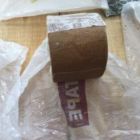 Brown Petroleum Tape For Wrapping Pipes And Fittings Standard AWWA C 217 EN 12068 Manufactures