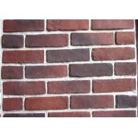 Anti Water Outdoor Fake Brick Wall Covering , Painting Exterior Brick Veneer Manufactures