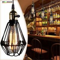 E27 socket Loft Droplight Retro Pendant Lights Mediterranean Sea Style Lamp 110-220v classicality Pendant lighting BS Manufactures