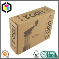 Black Logo Color Print Shipping Box; Custom Color Printing Logo Mailing Box Manufactures