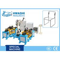 Six Axis Chair TIG MIG Industrial Welding Robots 1400mm Moving Radius 50Hz Frequency Manufactures