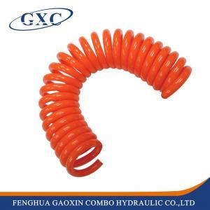China PUC5/16-15 100% Fresh Polyurethane Material Pneumatic Polyurethane Telescopic Spring Tube on sale
