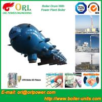 New steam boiler 50 ton stainless steel petroleum industry boiler spare part mud drum Manufactures