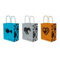 Quality Beautiful Fancy Paper Handmade Gift Bags Pantone With Glossy Lamination for sale