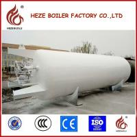 China 20M3 Cryogenic Tank Vacuum Insulated Powder Storage Tank for Liquid Oxygen on sale