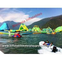 CE Inflatable Aqua Park Inflatable Kids Floating Water Parks Rentals Lake Fun Manufactures