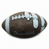 American Football, Weighs 385 to 425g, Made of Rubber Material, Lead Free Manufactures