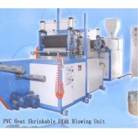 Fully Automatic PVC Film Blowing Machine With 20 - 40Kg/H Production Yield Manufactures