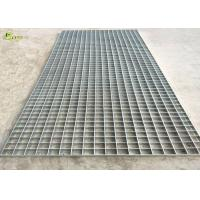 Quality Sewage Bar Steel Grating Welded Serrated Steel Drain Grid Gutter Cover for sale