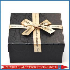 Glossy Spot UV Varnish Custom Design Color Matte Print Paper Gift Box Lid Base Style Manufactures
