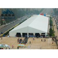 20M Modern Style Trade Show Tents Wooden Floor Inside For Exhibition Event Manufactures