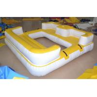 Customized Inflatable Water Toys , Exciting Water Inflatable Sofa Manufactures