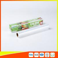 Kitchen Food Safe PE Cling Film Stretch For Cooking / Food Keeping Clean Manufactures
