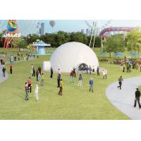 Immersive Projection Dome 5D Movie Theater For Amusement Park SGS GMC Manufactures