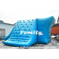 Fire Resistance Inflatable Water Slide Inflatable Water Tool For Seashore Park Manufactures
