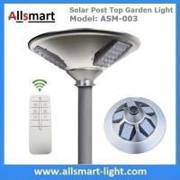 Quality New 30W 3000lm UFO Solar Garden Lights All In One Parking Lot Lamp Solar Energy for sale