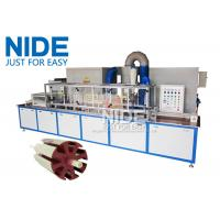 Servo Epoxy Powder Coating Machine With The Touch Screen For Armature Rotor Manufactures