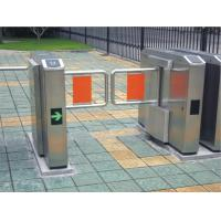Pedestrian swing barrier gate for staff and visiting access control Manufactures