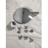 Buy cheap Aluminium precision machining mirror polish finish cover prototype parts from wholesalers