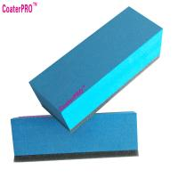 ceramic glass Coating sponge nano glass coat applicator pad car polishing sponge auto detail sponge coating agent sponge Manufactures
