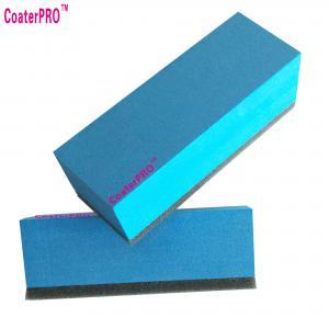 Quality ceramic glass Coating sponge nano glass coat applicator pad car polishing sponge for sale
