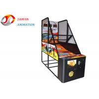 China Indoor Basketball Arcade Machine Hardware Material W250 X D100 X H240CM Size on sale