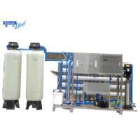 Boiler feed industrial deionized water system with Reverse Osmosis EDI Manufactures