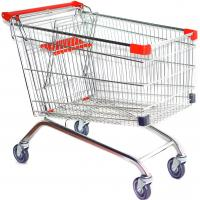 China European Style Steel Wire Shopping Cart With baby seat, TPR Double Ball Bearing Wheel on sale