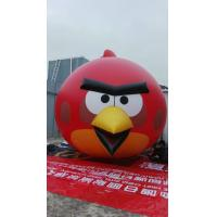 5 Meter High Colorful Cartoon Inflatable Model Inflatable Angry Birds For Exhibition Manufactures