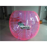PVC / TPU Colorful Inflatable Bumper Ball , Giant Knocker Soccer Balls Manufactures