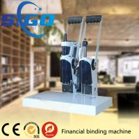 China SIGO-DK50 white color metal cover  financial binding machine factory directly supply made in China good quality on sale