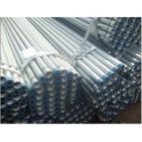 hot dip galvanized steel pipe threaded on both ends Manufactures