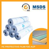 Waterproof Self Adhesive Protective Film For Aluminum Composite Panel Manufactures