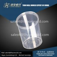 Quality 400ml plastic take away chinese thin walled container mould expert for sale