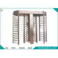 Electric Automatic Turnstiles Access Control Full Height Turnstile Gate Manufactures