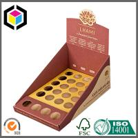 Promotion Custom Color Printed Cardboard Counter Display Boxes for Cookies Chocolates Manufactures