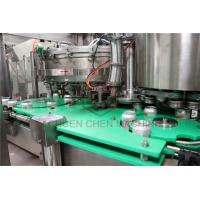 China Aseptic Aluminum Can Filling Machine Wine Beer Brewing Canning System on sale