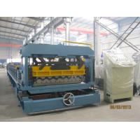 Buy cheap Standing Seam Profile Cold Roll Forming Machine for Steel Structure Building from wholesalers